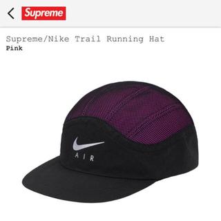 シュプリーム(Supreme)の新品 supreme nike trail running hat pink(その他)