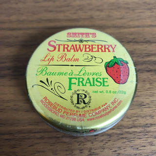smith's strawberry rip balm