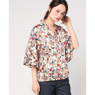 フィグアンドヴァイパー(FIG&VIPER)のFIG&VIPER BIGカラー袖フリルシャツ(シャツ/ブラウス(半袖/袖なし))