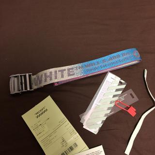 オフホワイト(OFF-WHITE)のOFF-WHITE ベルト 正規品(ベルト)