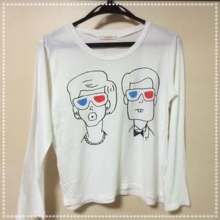 アトリエドゥサボン(l'atelier du savon)の3DシアターTシャツ sale!!(Tシャツ(長袖/七分))