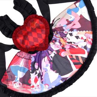 ディズニー(Disney)の新品♡アリスインワンダーランド エプロンワンピース♡(ミニワンピース)