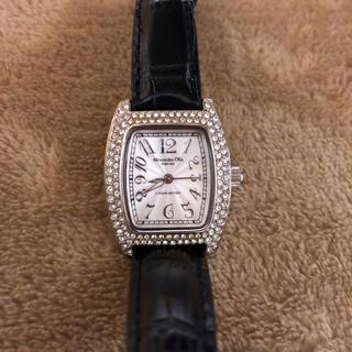 アレッサンドラオーラ(ALESSANdRA OLLA)のAlessandra Olla 腕時計 レザーベルト AO-1500(腕時計)