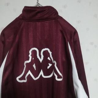 カッパ(Kappa)の古着 90s kappa バックプリント ロゴ トラックジャケット ジャージ(ジャージ)