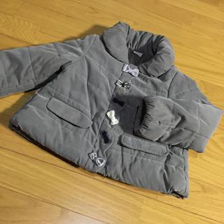 プティマイン(petit main)の美品 プティマイン 110 リボン コート(コート)