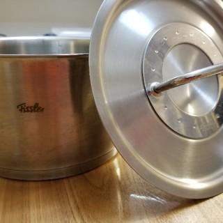 フィスラー(Fissler)のフィスラーの片手鍋 1~2回使用(鍋/フライパン)