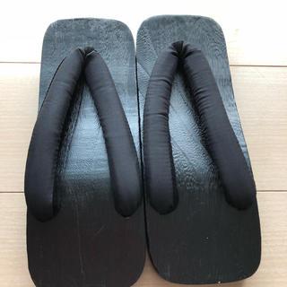 新品男性用下駄XL(27.5cmくらい)(下駄/草履)