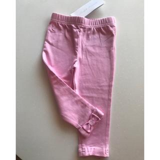 ラルフローレン(Ralph Lauren)の新品 ラルフローレン ベビー レギンス 12M 80 ピンク リボン(その他)