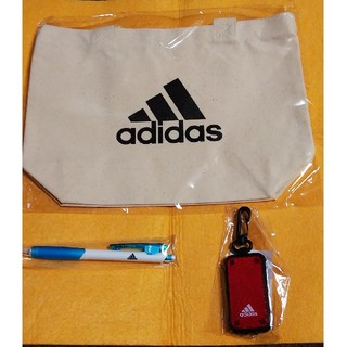 アディダス(adidas)の【非売品・新品】「アディダス」グッズ3点セット(ノベルティグッズ)