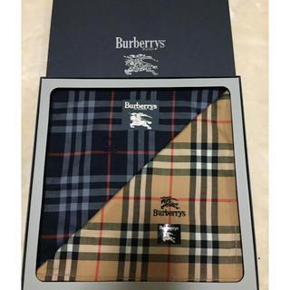 BURBERRY - 新品 バーバリーハンカチ2枚セット