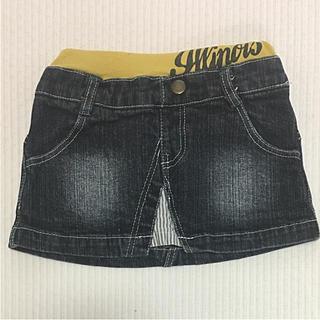 キッズ(KIDS)の子供服 デニムスカート 80(スカート)