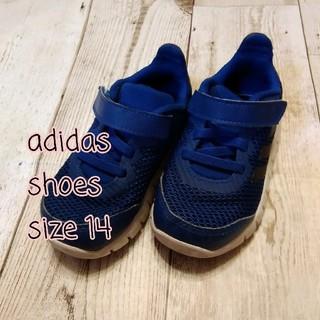 adidas - 【美品!】アディダス スニーカー 青