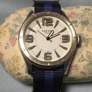 サクスニーイザック(SACSNY Y'SACCS)のSACSNY Y,SACCS  腕時計 値下げしました(腕時計(アナログ))