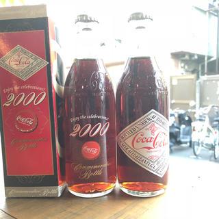 コカコーラ(コカ・コーラ)のコーラ 瓶 2000年 記念ボトル 3本セット(その他)