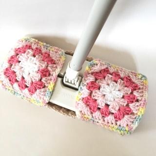 かおちゃん樣専用アクリルモップ ピンク2  水拭き用(キッチン小物)