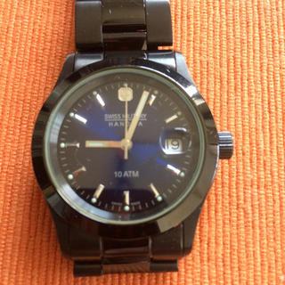 美品!スイスミリタリー腕時計