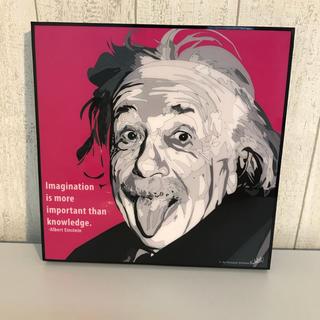 今話題 ポップアートパネル ポップアートボード アインシュタイン