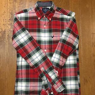 アメリカンイーグル(American Eagle)のアメリカンイーグルxs チェックシャツ(シャツ)