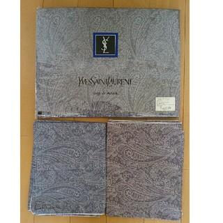 イヴサンローランボーテ(Yves Saint Laurent Beaute)の掛け布団カバー(ダブル) 枕カバー X 2(シーツ/カバー)