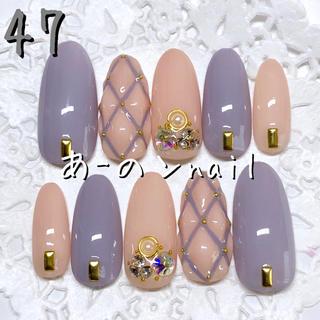 送料&カラー変更1色無料«47»ジェルネイルチップ♡*.