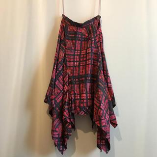 ヴィヴィアンウエストウッド(Vivienne Westwood)のvivienne変形スカート(ロングスカート)