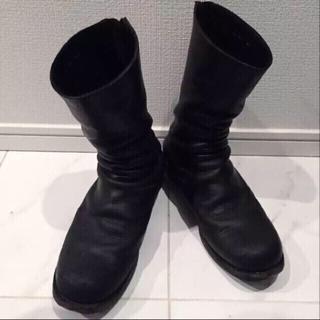 グイディ(GUIDI)の最終価格 N/07×lien guidi バックジップブーツ(ブーツ)