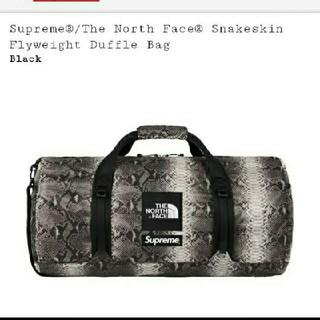 シュプリーム(Supreme)の新品 Supreme The North Snake Duffle Bag(ドラムバッグ)