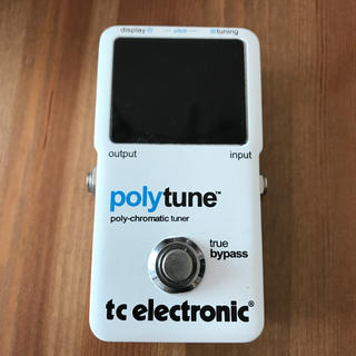 tc electronic polytune  used(エフェクター)