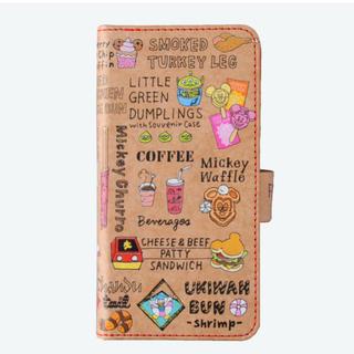 ディズニー(Disney)のディズニー スマートフォンケース 手帳型 ミッキーワッフル !(モバイルケース/カバー)