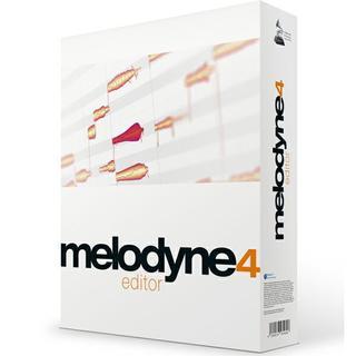 melodyne 4 editor(ソフトウェアプラグイン)
