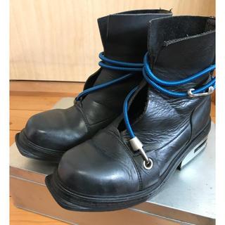 ダークビッケンバーグ(DIRK BIKKEMBERGS)のダークビッケンバーグ ワイヤーブーツ 42 27センチ(ブーツ)