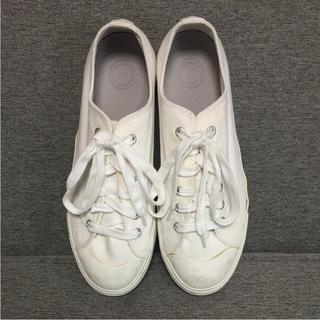 ムジルシリョウヒン(MUJI (無印良品))の無印良品 オーガニックコットンスニーカー 靴 スニーカー(スニーカー)