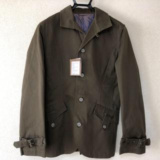 オーセンティックシューアンドコー(AUTHENTIC SHOE&Co.)の綿100% ジャケット 薄茶色 AUTHENIC(ステンカラーコート)