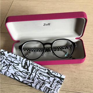 ゾフ(Zoff)の新品未使用☆Zoff メガネケース ピンク(サングラス/メガネ)