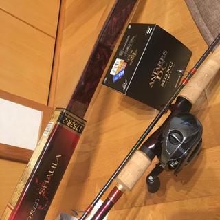 シマノ(SHIMANO)のシマノ ワールドシャウラ+アンタレス(ロッド)