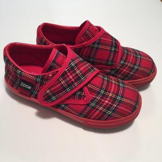 ズーム(Zoom)のZOOM PEEP チェック 靴 18.0cm(その他)