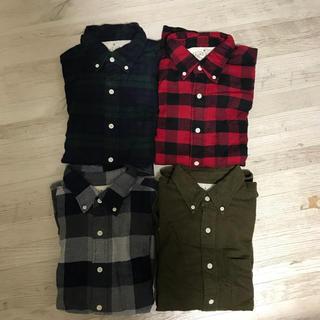 チェックシャツ ネルシャツ シャツ まとめ売り お買い得