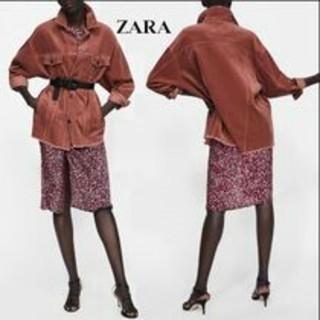 ザラ(ZARA)のZARA 18-19AW 完売新品 カラー!コーデュロイジャケット(Gジャン/デニムジャケット)