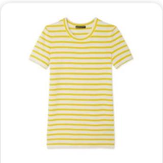 プチバトー(PETIT BATEAU)のPETIT BATEAU(プチバトー)ボーダークールネック半袖Tシャツ(Tシャツ(半袖/袖なし))
