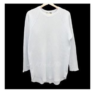 アンユーズド(UNUSED)のunusedアンユーズド サーマルTシャツロングスリーブワッフルロングTシャツ2(Tシャツ(長袖/七分))