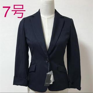 新品 sucre 7号 ストライプ ネイビー 洗える パンツ スーツ(スーツ)