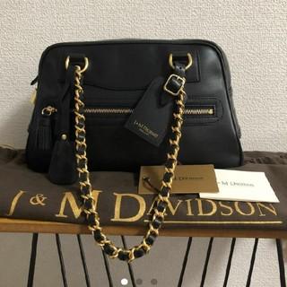 ジェイアンドエムデヴィッドソン(J&M DAVIDSON)の美品j&mdavidson チェーン バッグ(ショルダーバッグ)