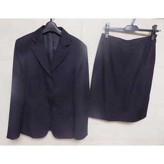 ニューヨーカー(NEWYORKER)のニューヨーカー 毛100% 定番 黒スーツ13号 日本製(スーツ)