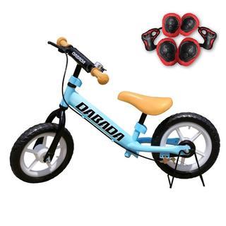 バランスバイク 減速ブレーキ付 スタンド付 (レッド)(三輪車/乗り物)