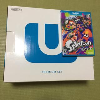 Wii U - WiiU本体 32ギガ スプラトゥーン セット