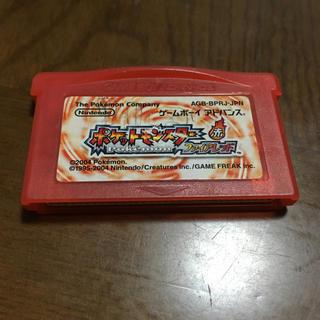 ゲームボーイアドバンス(ゲームボーイアドバンス)のゲームボーイアドバイス ポケモン ファイアレッド(携帯用ゲームソフト)