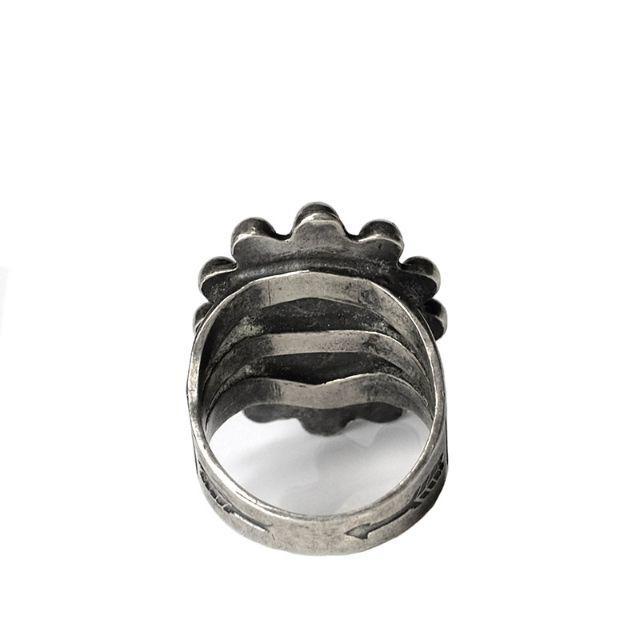 1970年代 ナバホ ターコイズリング ヴィンテージリング メンズのアクセサリー(リング(指輪))の商品写真