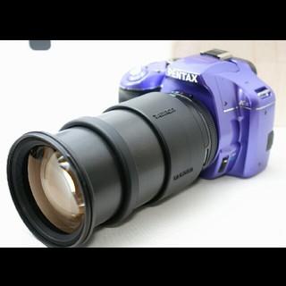 ペンタックス(PENTAX)の珍しいパープル ペンタックス K-x レンズセット 保証♪(デジタル一眼)