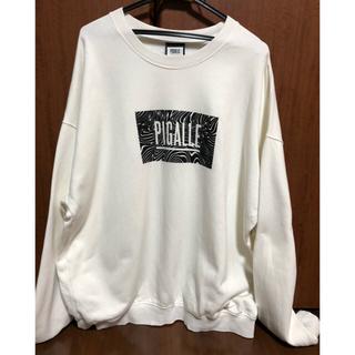 ピガール(PIGALLE)のPIGALLE スウェット ホワイト 登坂広臣(スウェット)