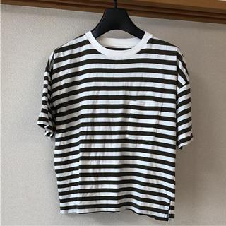 無印良品 ボーダーTシャツ